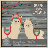 Llama Llama Book Bin Labels Editable