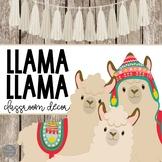 Llama Llama Classroom Decor GROWING  Bundle