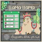 Llama Llama Classroom Decor Set Two