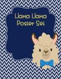 Llama Llama Classroom Posters Set