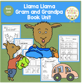 Llama Llama Gram and Grandpa Book Unit
