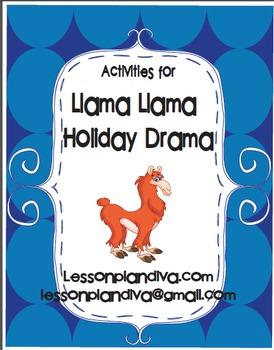 Llama Llama Holiday Drama Activities Free!