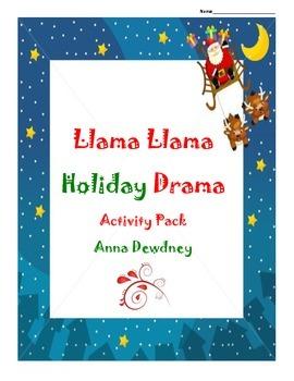 Llama Llama Holiday Drama Story pack