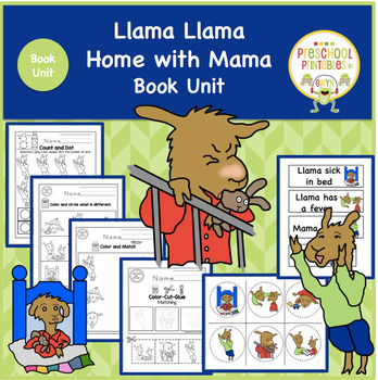 Llama Llama Home with Mama Book Unit