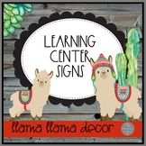 Llama Llama MEGA SET of Center Signs