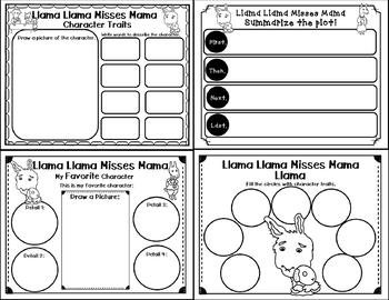 Llama Llama Misses Mama (Story Companion with story and Non fiction QR codes )
