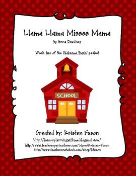 Llama Llama Misses Mama - Welcome Back to School!