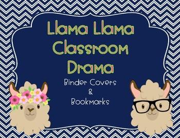 Llama Llama Notebooks and Bookmarks