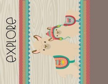 Llama Llama Poster Freebie