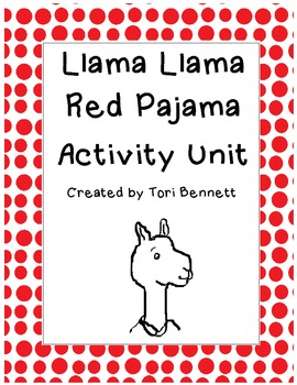 Llama Llama Red Pajama Activity Unit