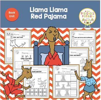 a1b5b274f4 Llama Llama Red Pajama Book Unit by Book Units by Lynn