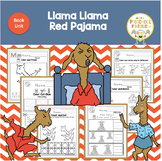 Llama Llama Red Pajama Book Unit