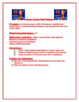 Llama Llama Red Pajama Family Packet
