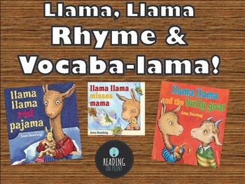 Llama, Llama Rhyme and Vocaba-llama