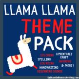 Llama Llama Theme Pack