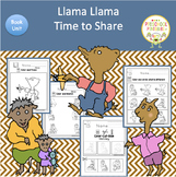 Llama Llama Time to Share  Book Unit