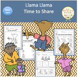 Llama Llama Time to Share Book Unit