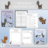 Llama Llama and the Bully Goat Comprehension Pages and Activities