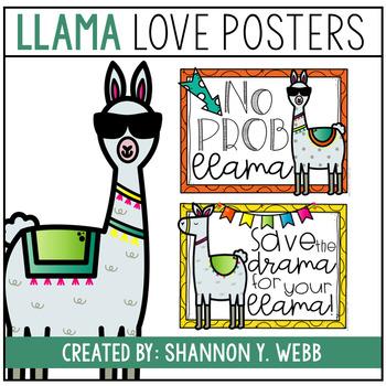 Llama Posters {FREEBIE}