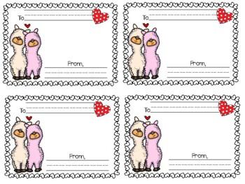 Llama Love {Kindness Writing Craftivity}