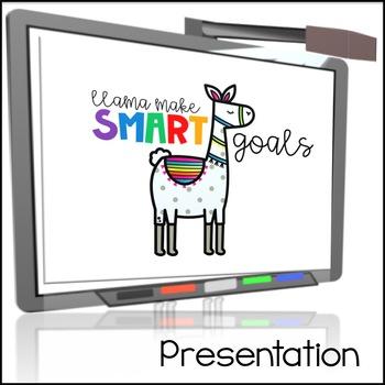 SMART Goals Llama Flipbook