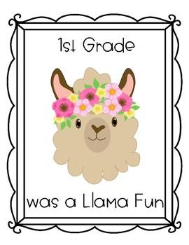 Llama Memory Books and Certificates
