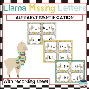 Llama Missing Letters