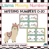 Llama Missing Numbers