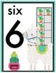 Llama Number Posters