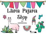Llama Pajama Shop: Fun Addition Activity