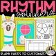 Llama Rhythm Spinners: Spin, Notate, Perform! {Color and Ink-Friendly}