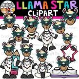 Llama Star Clipart {Llamas Clipart}