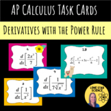 Llama Task Cards: Derivative with the Power Rule  (Self Correcting)