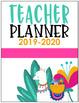 Llama Teacher Planner {Editable!}
