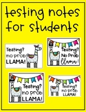 Llama Testing Notes for Students