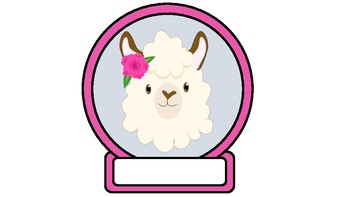 Llama Theme Class Labels
