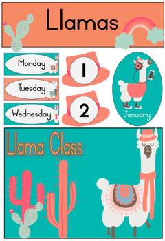 Llama Theme Classroom Resources