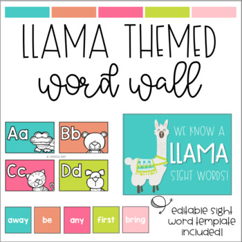 Llama Theme Bundle Teaching Resources | Teachers Pay Teachers