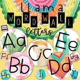 Llama Word Wall Letters