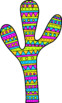 Hand Drawn Llama Clip Art