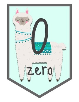 No Prob-Llama and Cactus Large Number Banner