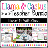 Llama and Cactus Meet the Teacher - Back to School - Open