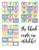 Llama and cactus calendar numbers