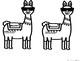 Llama be Drug Free Red Ribbon Week Door Kit