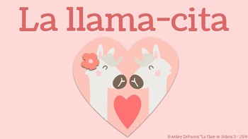Llama cita - Novice level short story