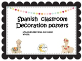 Llama classroom  decor  Spanish Greetings and polite words