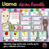 Llama decor bundle