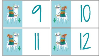 Llama numbers