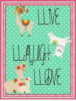 Llama posters (second edition)