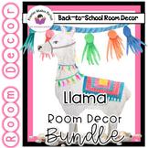 Llama Classroom Decor Bundle